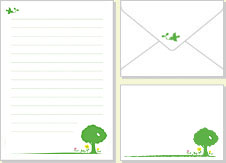 かわいい封筒のテンプレート ... : 便箋 テンプレート 縦書き : すべての講義